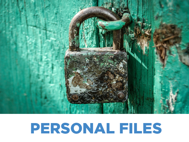 Personal Files